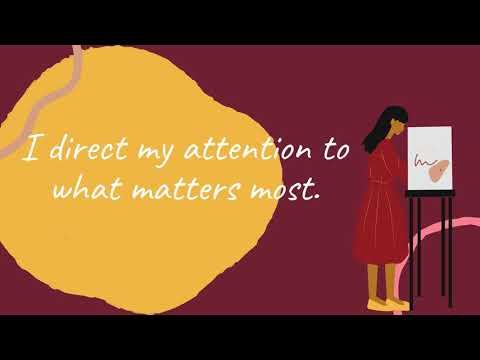 Productivity Affirmations Video