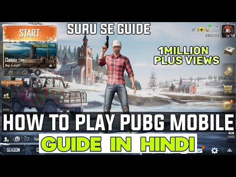 How to play PUBG in Android hindi | PUBG Guide for beginners in Hindi