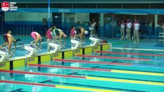 Nanjing Kızlar 100 m Serbest Yüzme Yarışı  Yarı final  İlknur Nihan ÇAKICI