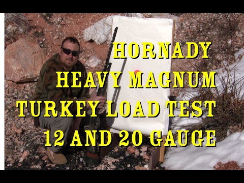 Hornady Heavy Magnum Turkey Load Review 12 and 20 gauge RGO Ep 11- Regular Guys Outdoors