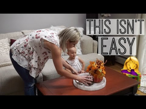 DAY IN THE LIFE OF A MOM| Decorate for Fall With Me| New Vlog Camera| Tres Chic Mama