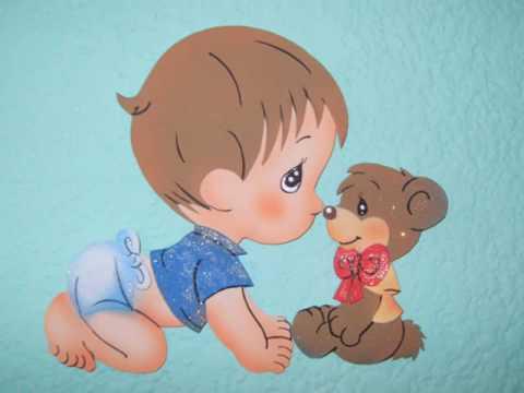CREARTE Diseños-Decoracion BABY SHOWERS - YouTube