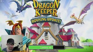 NEW UPDATE GIVEN FREE HOUSES CUY!! -The DRAGON KEEPER-ROBLOX #2 INDONESIA