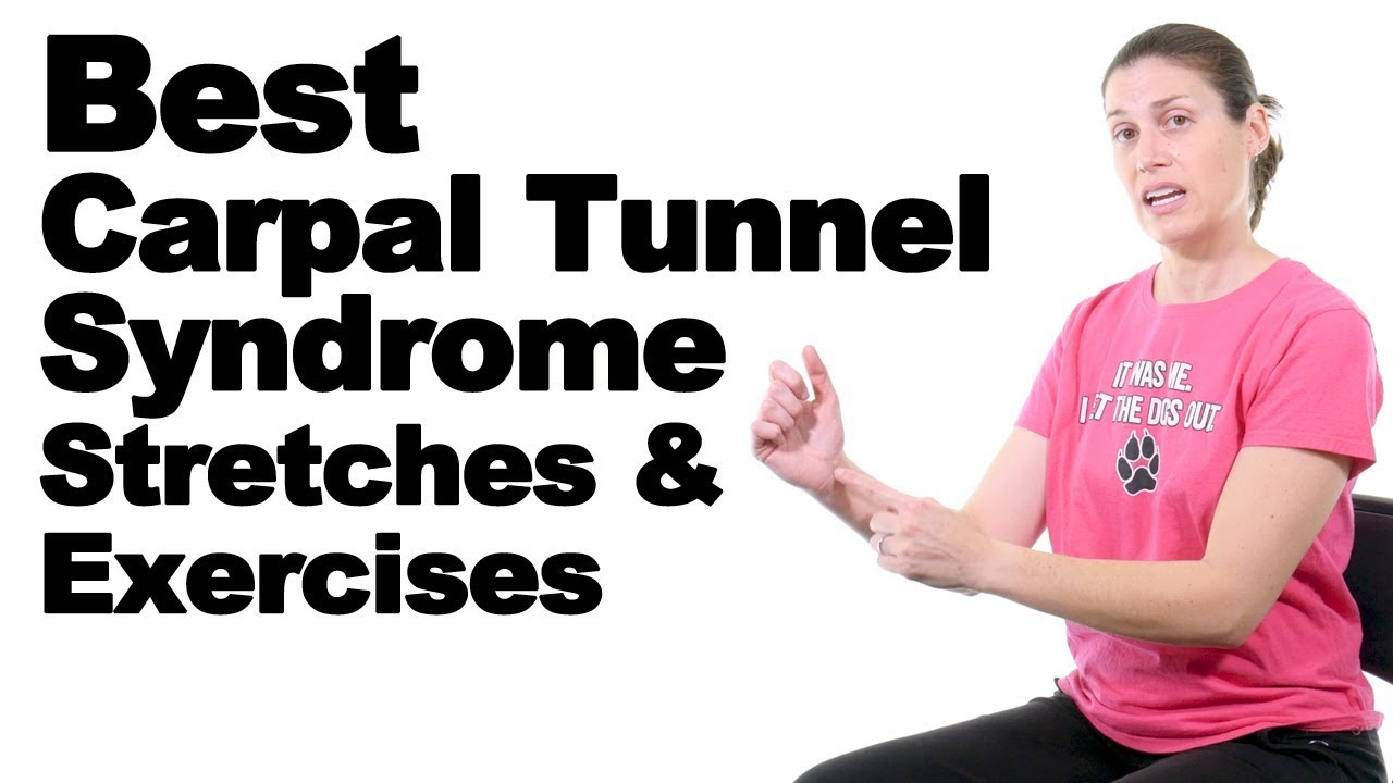 5 Best Carpal Tunnel Syndrome Stretches Exercises Ask Doctor Jo