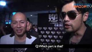 """Jay Chou at """"The Viral Factor"""" premiere Mp3"""