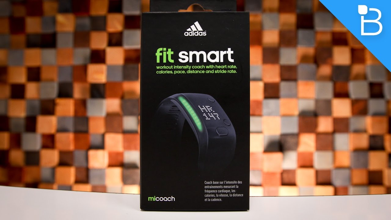 best sneakers d465d 9d023 Adidas miCoach FIT SMART Heart Rate Monitor Review