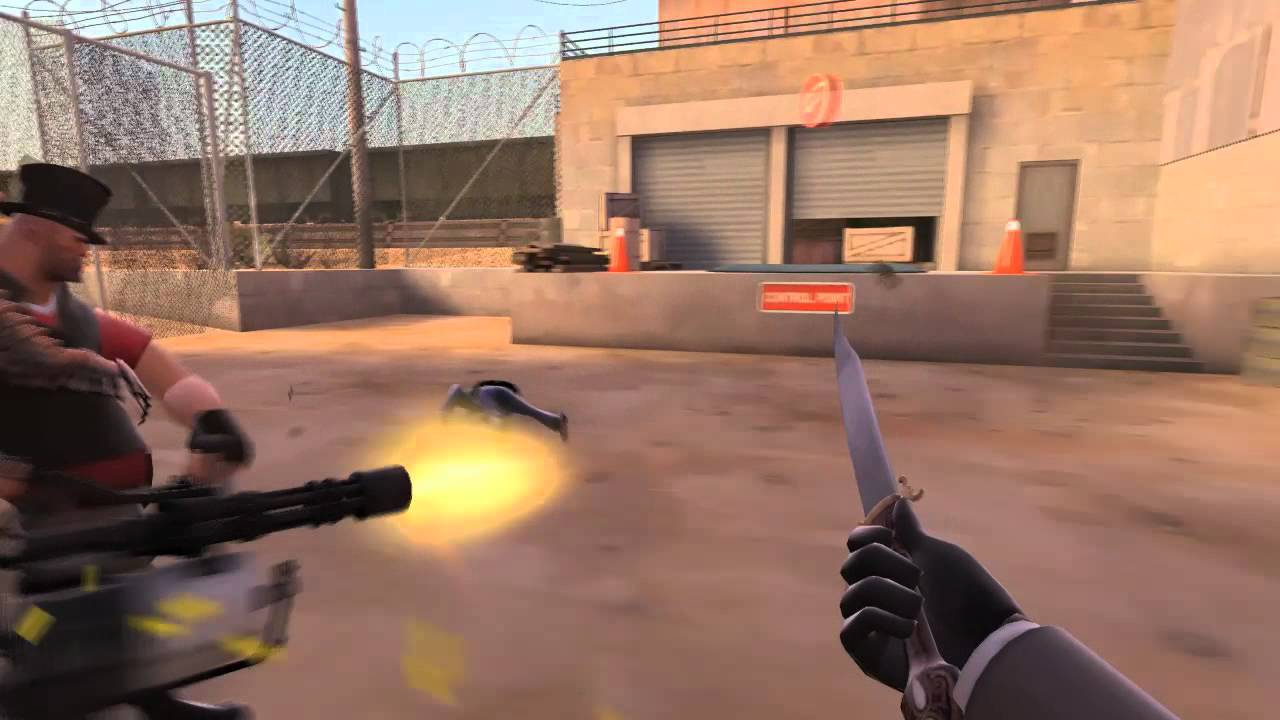 Team Fortress 2 - The Power of the Dead Ringer - YouTube
