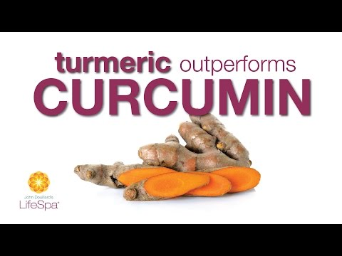 Turmeric Health Benefits Outperform Curcumin (Turmeric Extract) | John Douillard's LIfeSpa