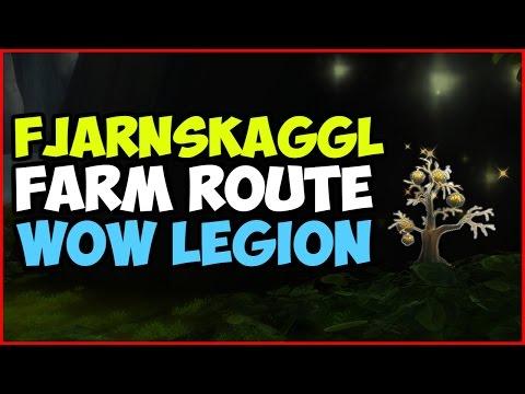 WoW Legion   Fjarnskaggl Farm Route   Gold Guide