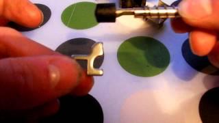Démontage barillet et fabrication clé