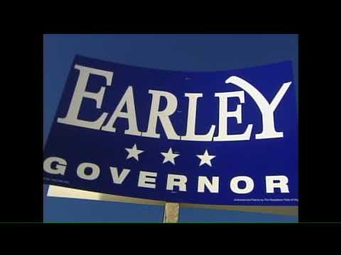 Video Vault 2001 November 6: Mark Earley and Mark Warner on Election Day