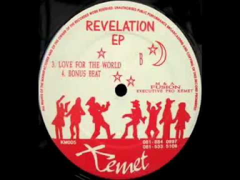 KEMET RECORDS THE REVELATION EP 'LOVE FOR THE WORLD' CLASSIC DRUM & BASS TUNEAGE!.mp4