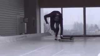 Extreme-sport Skeleton. № 1 in the World - Martins Dukurs (training)