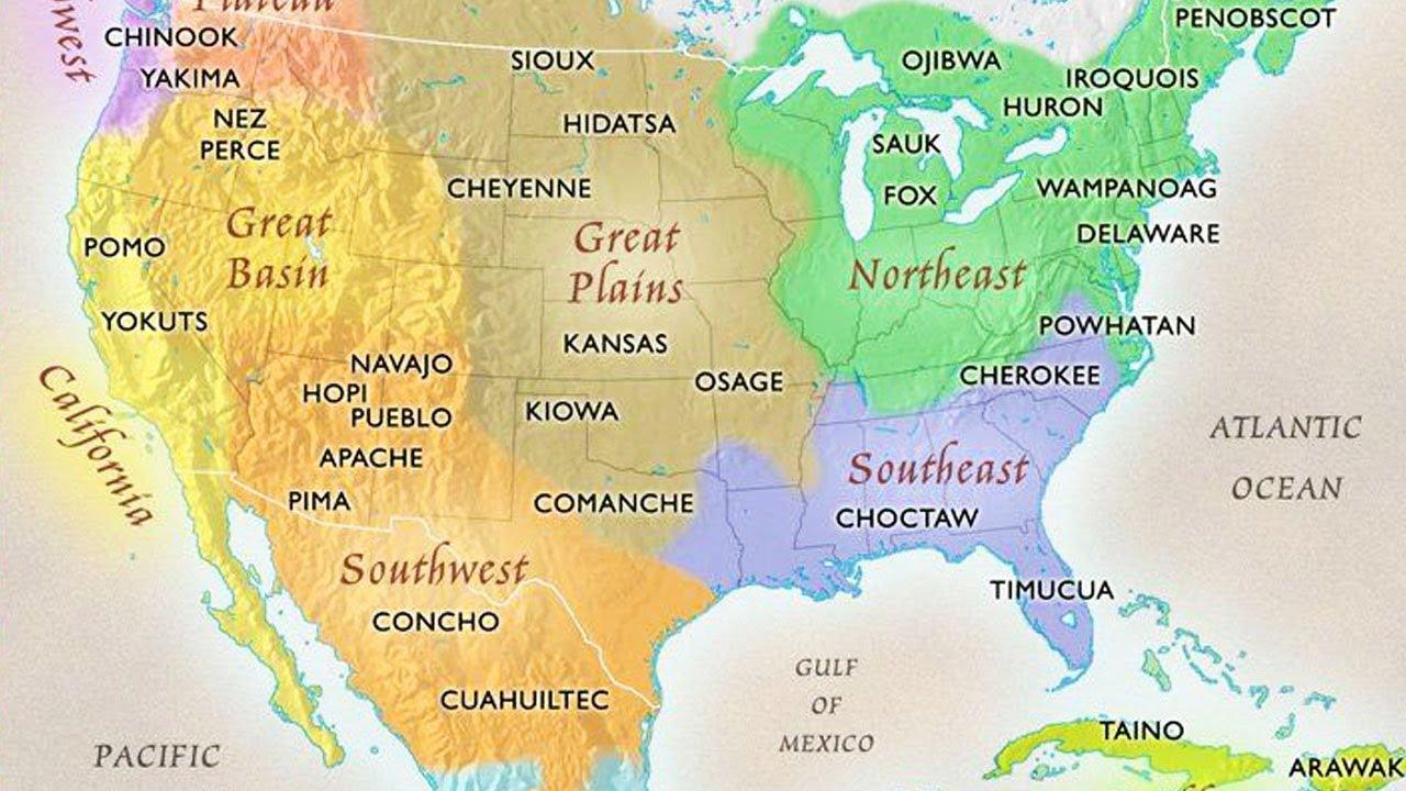 America Occidentale Cartina.Perche La Mappa Delle Tribu Dei Nativi Americani Non Si Trova Sui Libri Di Storia Vanilla Magazine