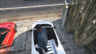 Grand Theft Auto V PC Gameplay (MSI Ghost - GTX 860m)