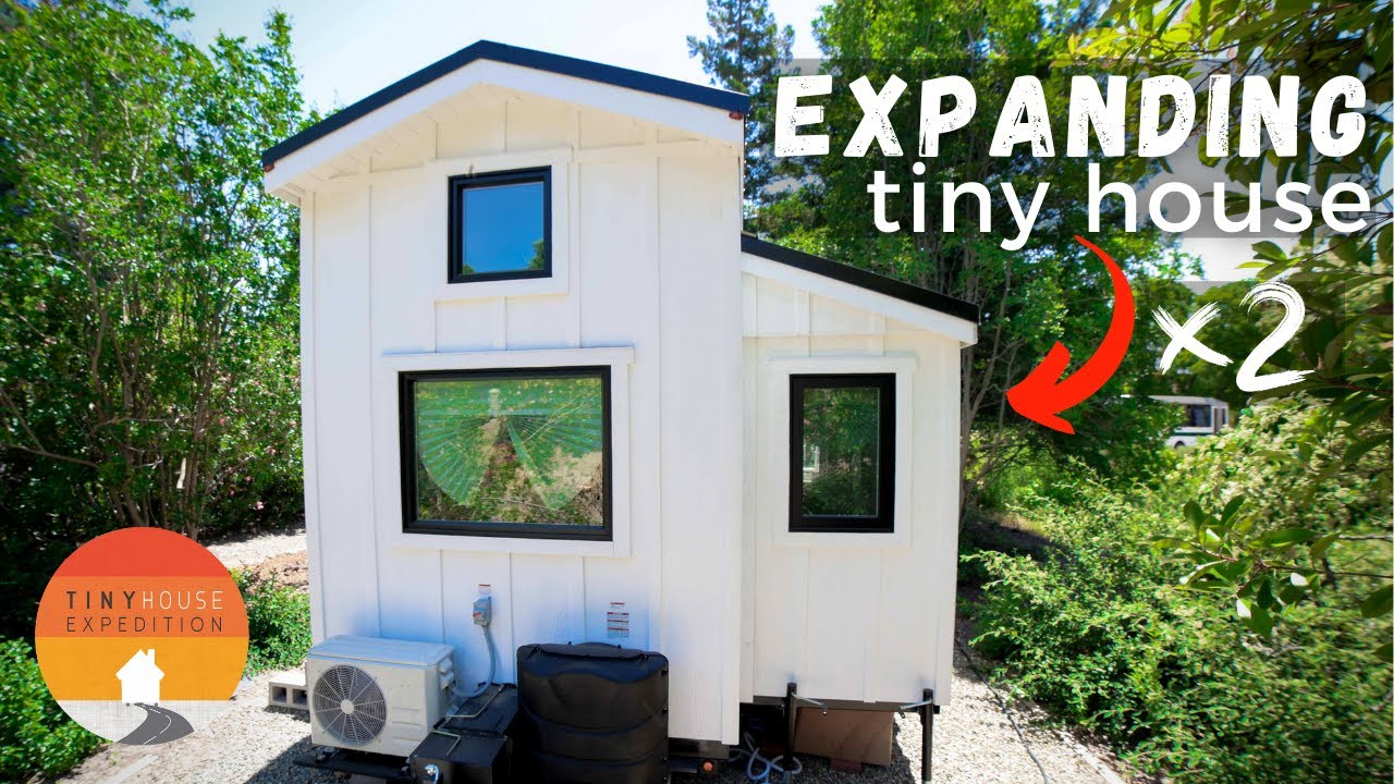 5 Unique Tiny Houses Clever Design Ideas For Small Spaces Youtube