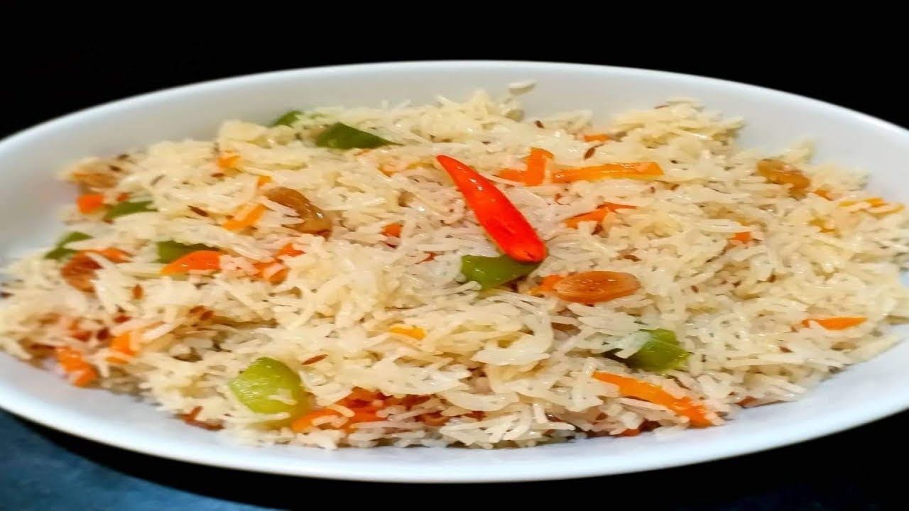 Simple Easy Fried Rice In Microwave Recipe In Hindi Microwave Recipe Youtube