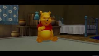 Pooh drinks dirty soda