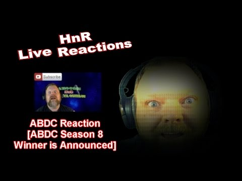 Abdc reaction abdc season 8 winner is announced abdc reaction abdc