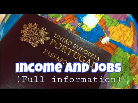 Income And Jobs In Portugal (Full Information)
