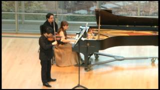 Beethoven Violin Sonata No. 7 in C minor, op. 30, no. 2 3. Scherzo.Allegro-Trio