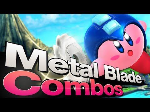 Smash 4 Wii U - Metal Blade Combos AGAINST Megaman [Part 3]