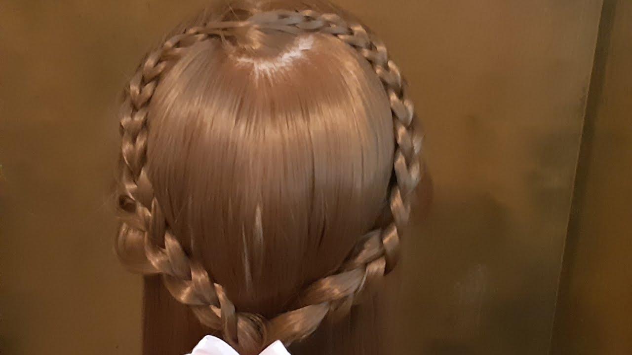 Easy to make Heart braid Hairstyle |Wedding |ถักเปียหัวใจ |รับปริญญา| เวดดิ่ง ง่ายๆ
