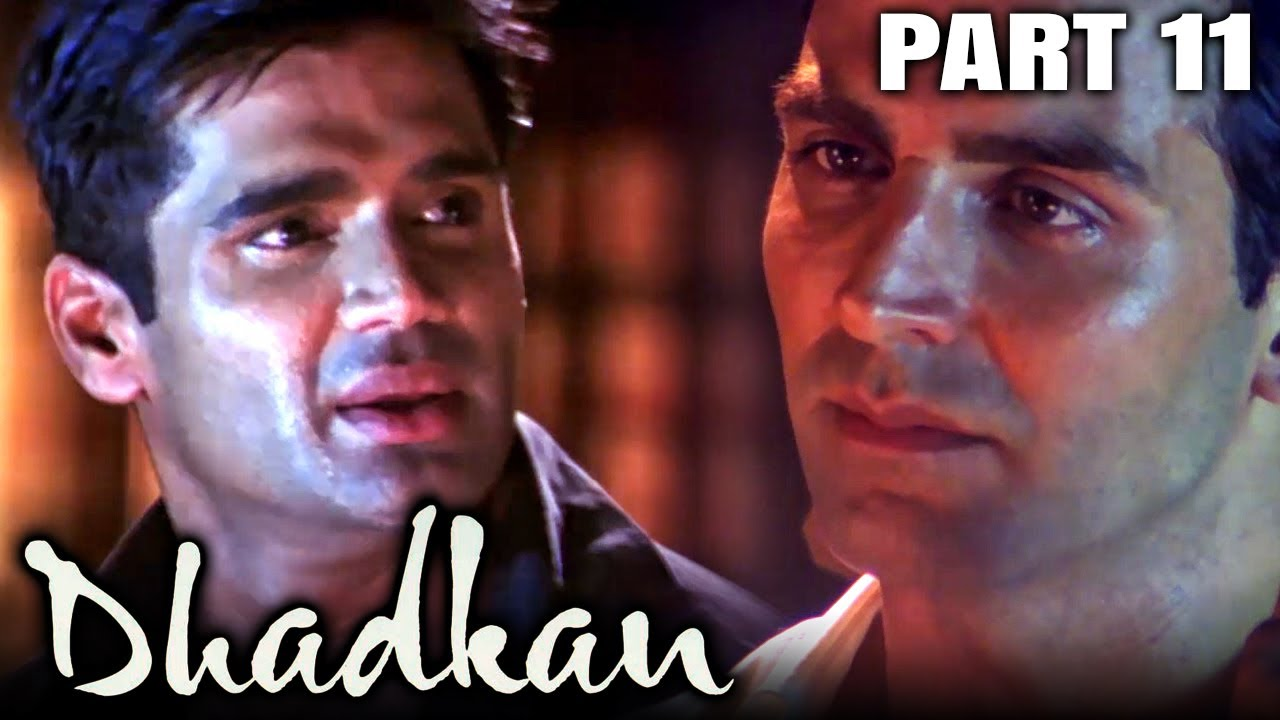 Dhadkan (2000) Part 11 - Bollywood Romantic Full Movie l Akshay Kumar, Sunil Shetty Shilpa Shetty