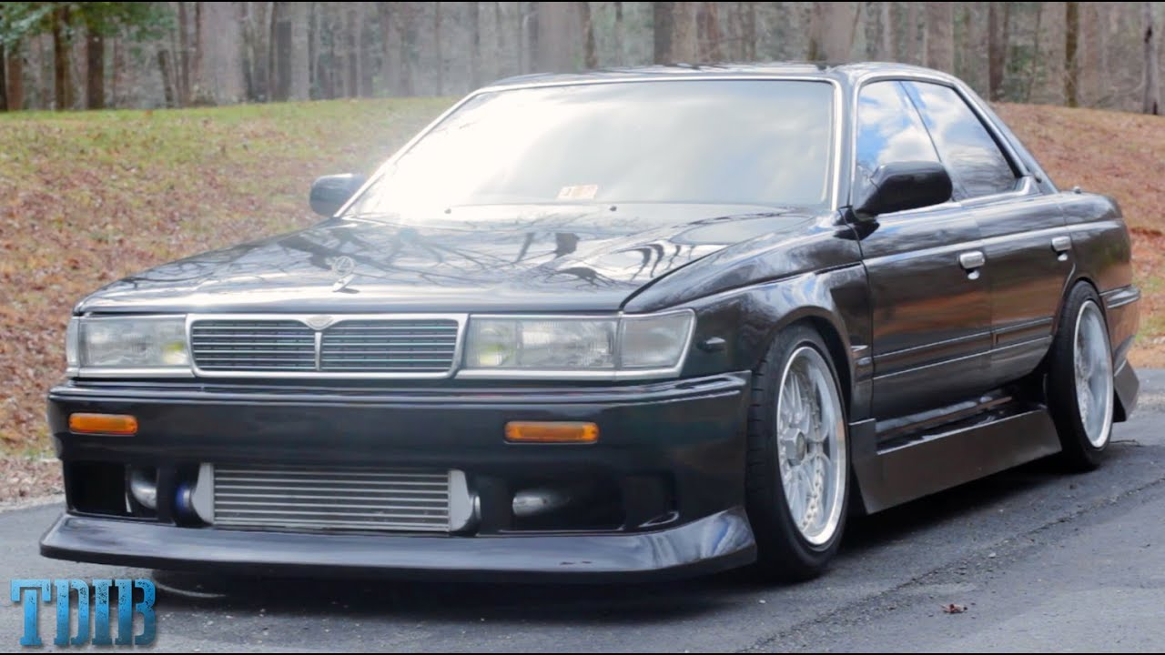 JDM Style and Skids!-Nissan Laurel Review! - YouTube