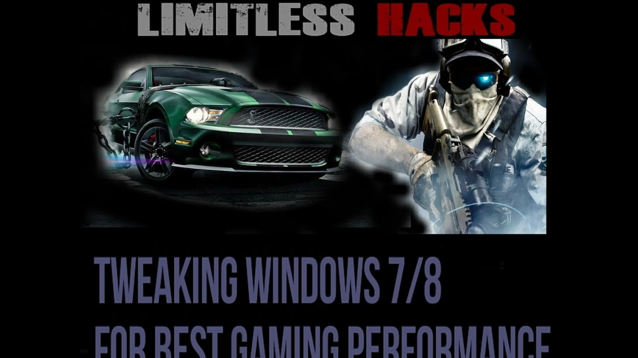 Tweaking Windows 7 8 For Amazing Gaming Performance Registry Hacks Much More Youtube