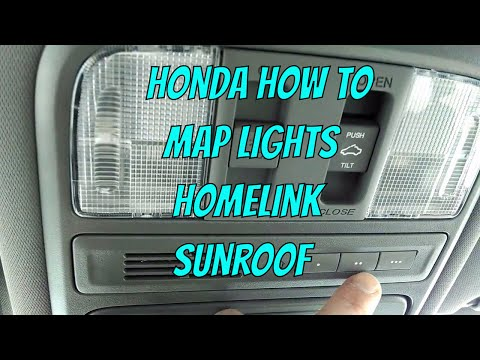 Honda Pilot - Map Lights/Sunroof/Homelink Review