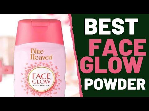 Blue Heaven Face Glow Face Powder Review   Vajacosmetics