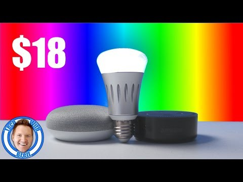 $18 Colored Smart Life Light Bulbs