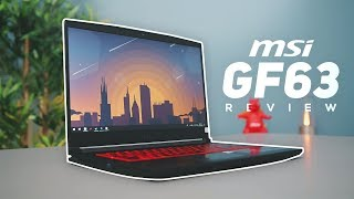 MSI GF63 Gaming Laptop Review! - A Thin And Light Gaming Powerhouse!