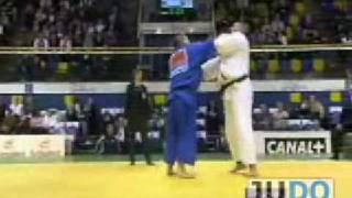 JUDO 2008 World Open Championships: Yasuyuki Muneta 棟田 康幸 (JPN) - Daniel Hernandes (BRA)