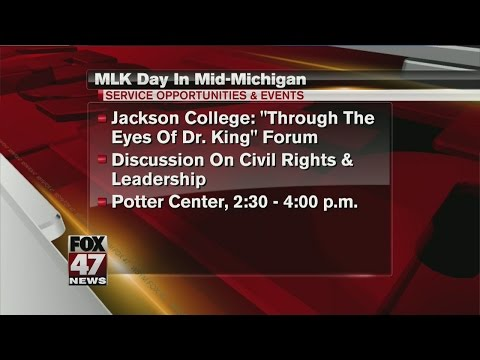 How to celebrate MLK Day in mid-Michigan