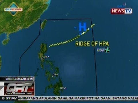 QRT: Weather update as of 5:57 p.m. (March 22, 2019)