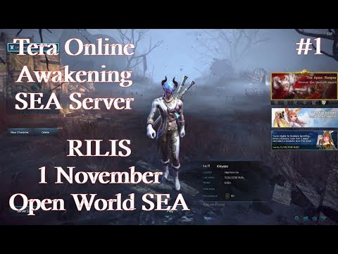Server SEA!!! This Free To Play MMORPG - TERA ONLINE AWAKENING【Ninja Gameplay】- Indonesia