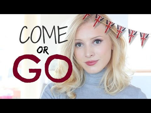 COME OR GO? | Learn British English Grammar*