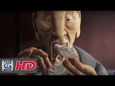 "Thumbnail: CGI 3D Animated Short HD: ""Origami"" - by ESMA"