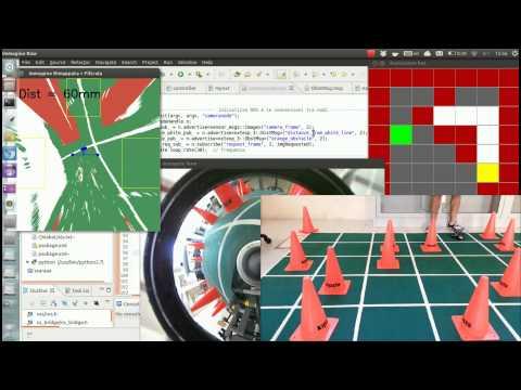 Autonomous Lego NXT with Omnidirectional Camera
