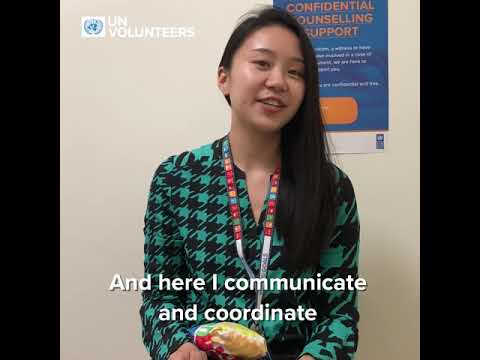 SU Yilin, UN Volunteer With UNDP China, Working In The Water Governance Programme