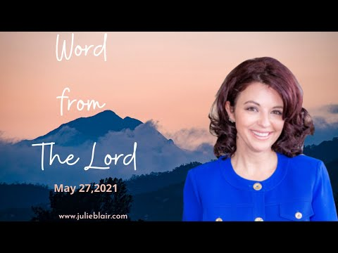 Word from Lord May 27 2021