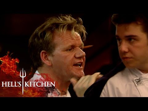 Chef Gives Gordon STONE COLD FOOD  | Hell's Kitchen