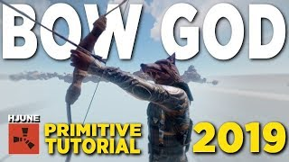 Click to become a BOW GOD in RUST... (IN-DEPTH TUTORIAL 2019)