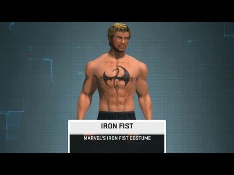 Marvel Heroes Omega: Closed Beta - Marvel's Iron Fist Costume Gameplay