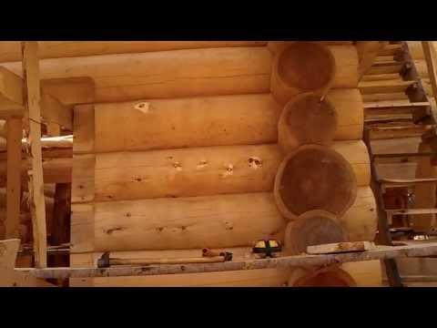 Антисептик, реальный опыт Remmers(Германия)Tikkurila(Финляндия) Деревянные дома срубы кедр. часть12