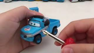 Disney Pixar Cars Roger Wheeler diecast review