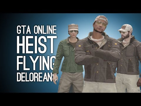 GTA Online Doomsday Heist Pt 3: FLYING DELOREANS! (Signal Intercepts)