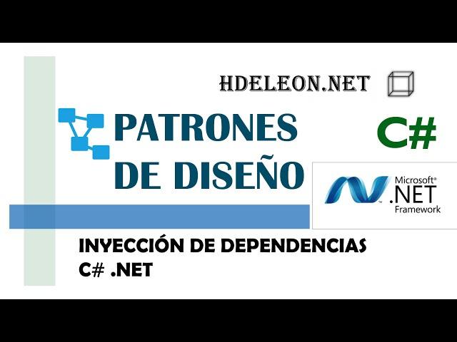 Inyección de dependencias   Patrones de diseño   design patterns   #9 💉